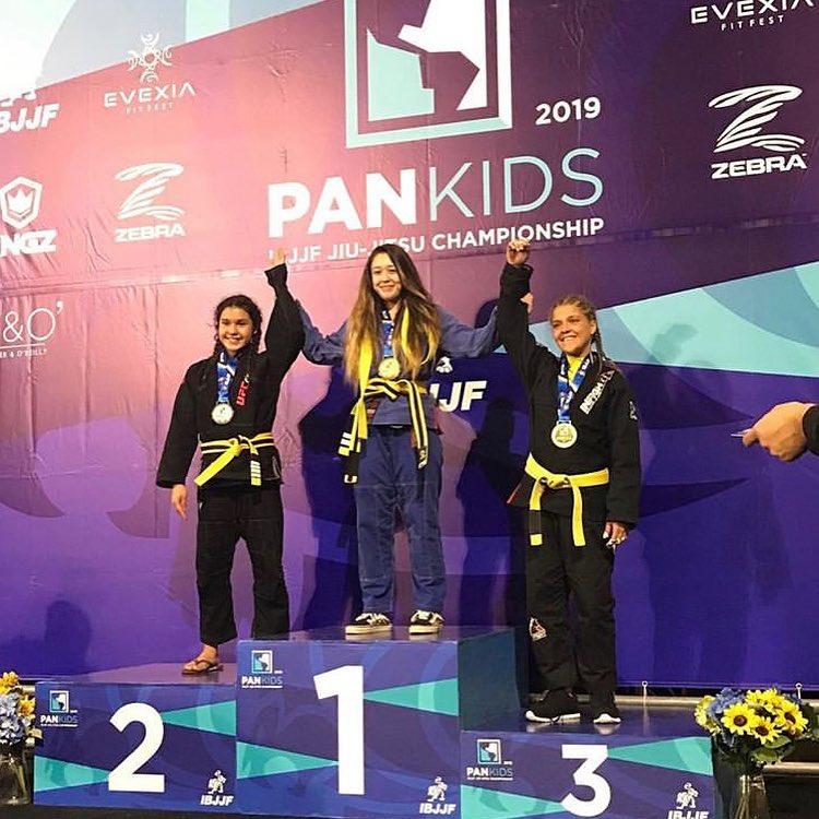 IBJJF Pan Kids champion