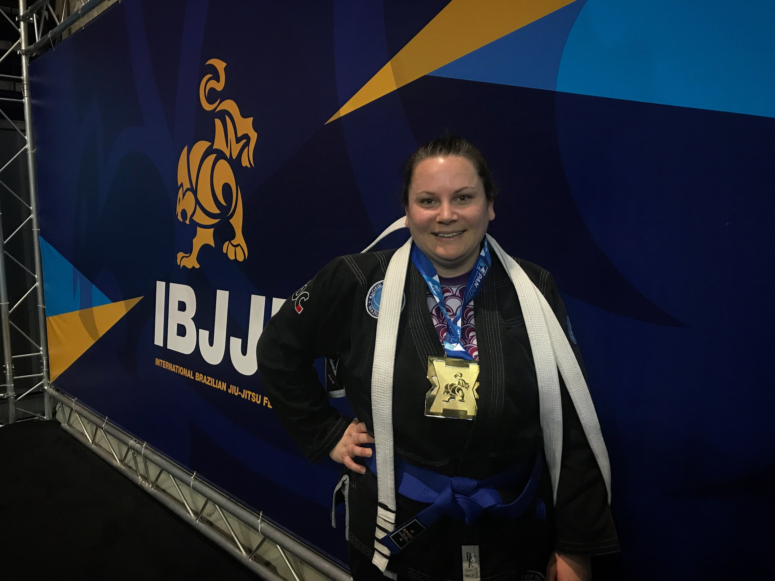Rachel Forero Gold in the division and brand new blue belt!