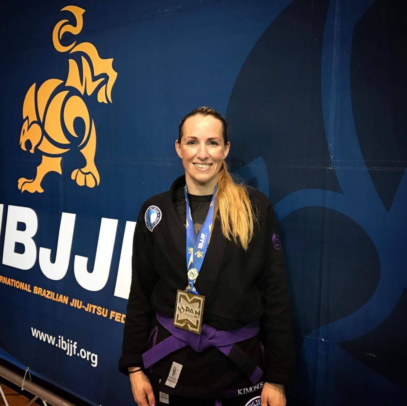 Coach Kim Multiple times worlds, pan & European Champion and #1 Ranked Purple belt Master by the International Brazilian Jiu Jitsu Federation (IBJJF)