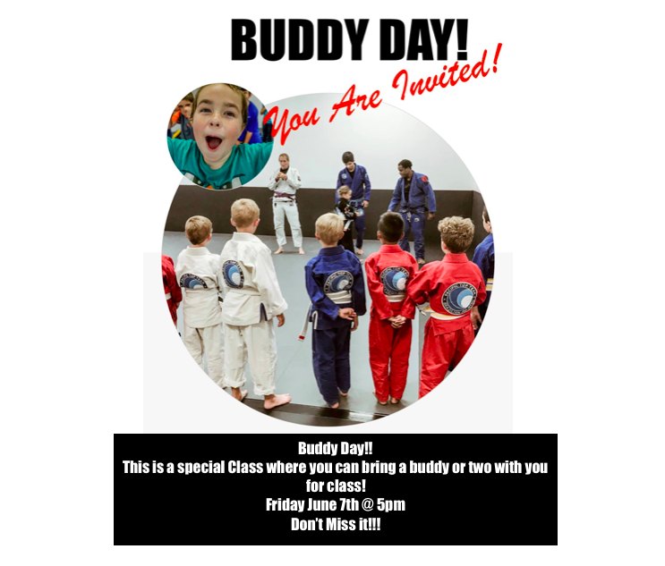 buddy day jiu jitsu kids corona