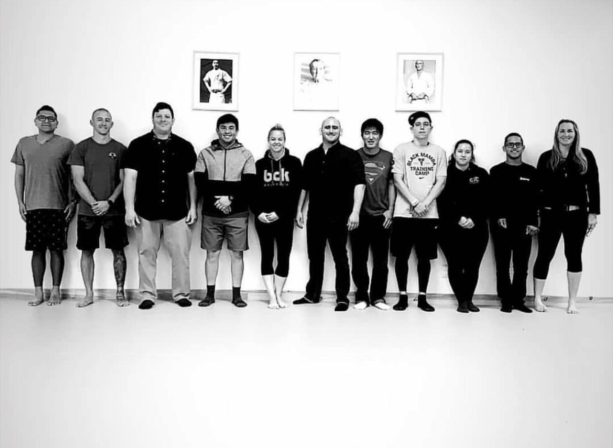 brazillina jiu jitsu instructor course corona riverside