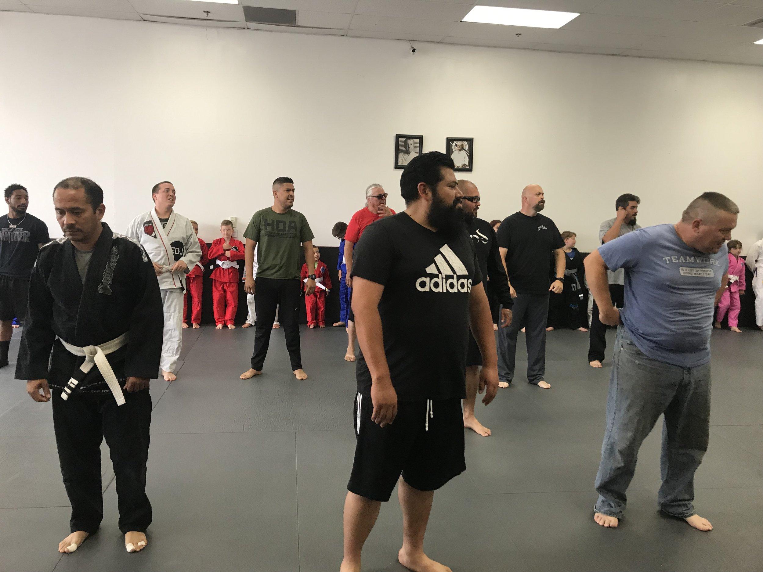 dad's jiu jitsu