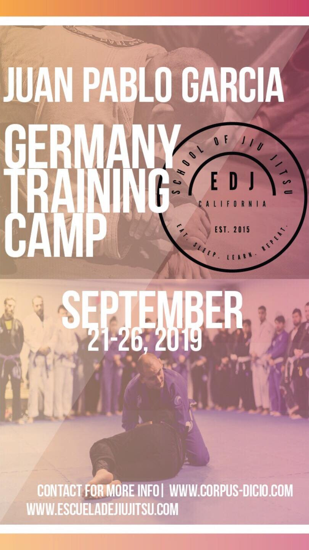 Germany BJJ Seminar