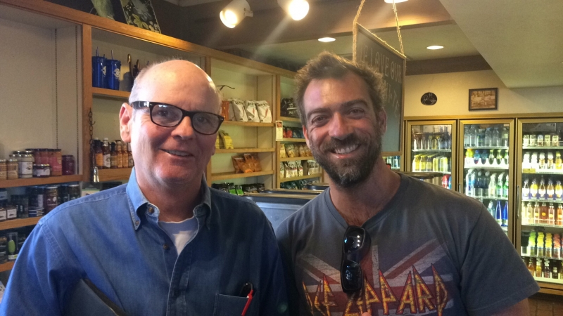 Tulio with phICA Board President and Co-Founder Eddie Shea at Duck and Decanter. 11-2-15