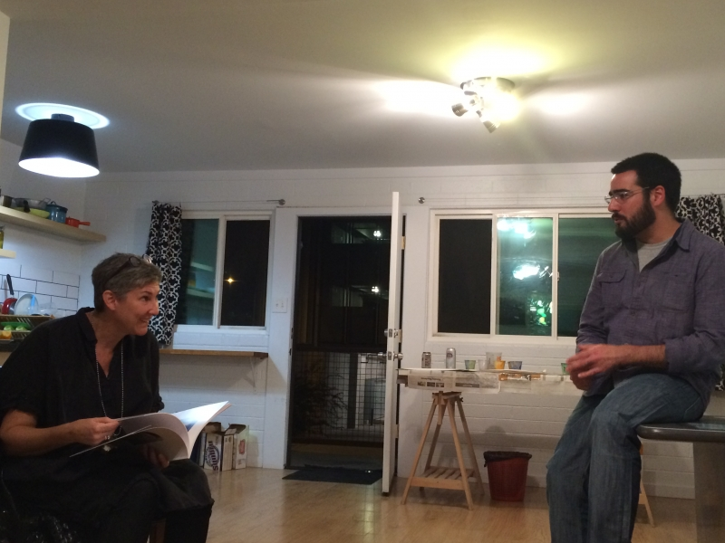 Mimi Jardine, Felipe Goes, Combine Studios  12-6-14