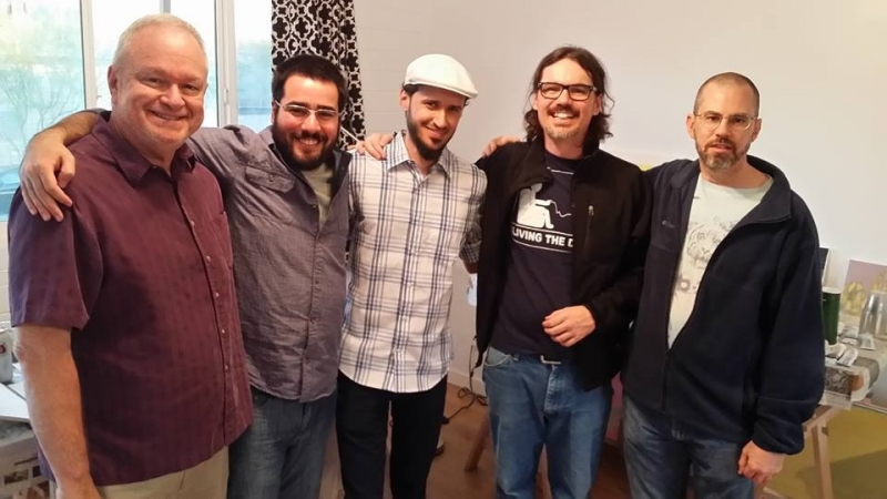 Ted Decker, Felipe Goes, Dain Gore, Bassim Al-Shaker, Jason Hugger, Combine Studios  12-6-14