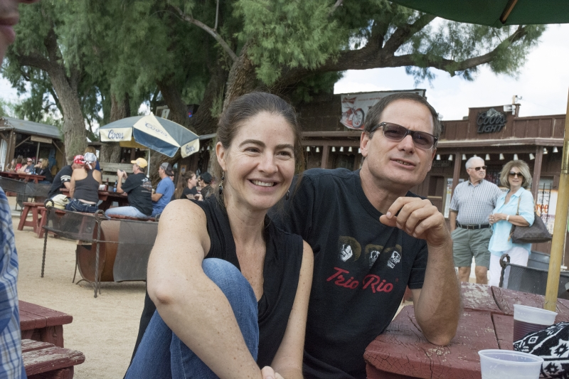 Veronica Villanueva and Brent Bond  photo credit Carolyn Lavender Greasewood, 11-1-14