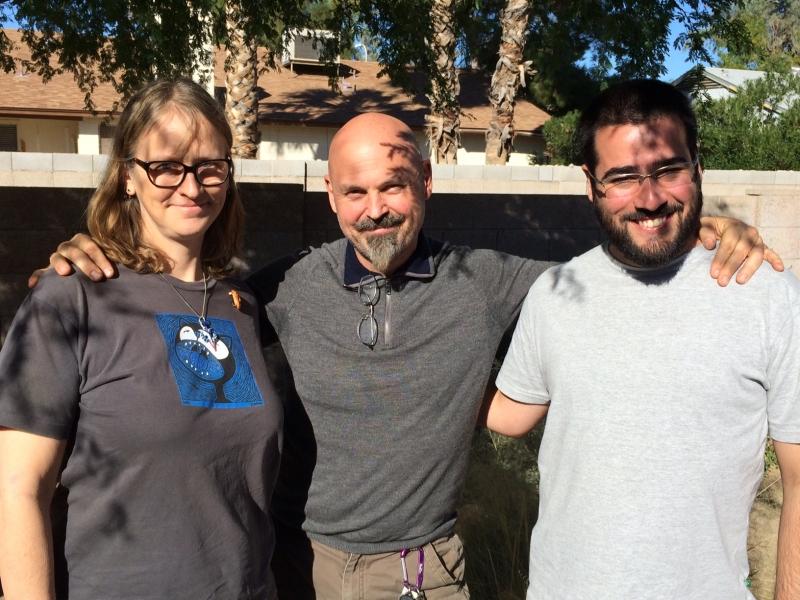 Carolyn Lavender, Brian Skaggs, Felipe Goes, Chandler, AZ  11-17-14