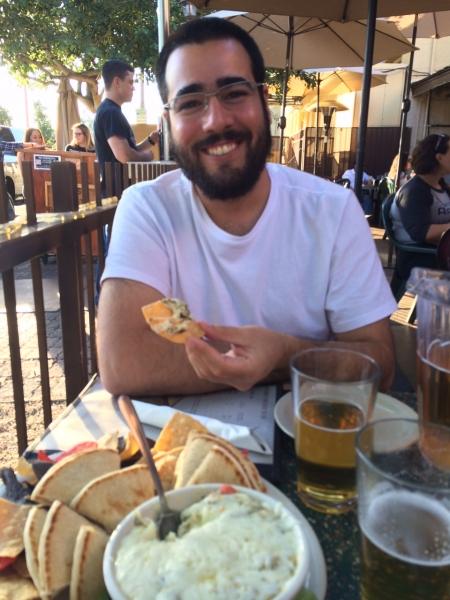 Felipe at Four Peaks Brewery, Tempe  11-15-14