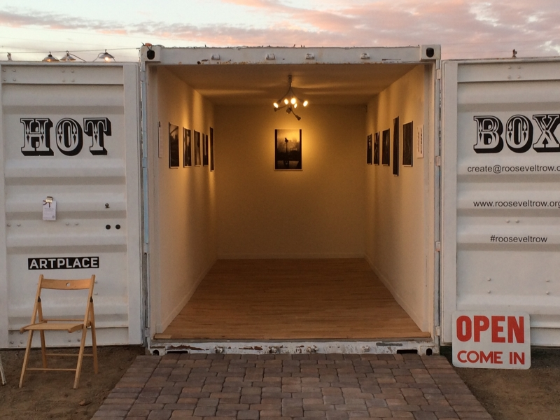 Wanderson Alves exhibit with phICAopening night  10-17-14