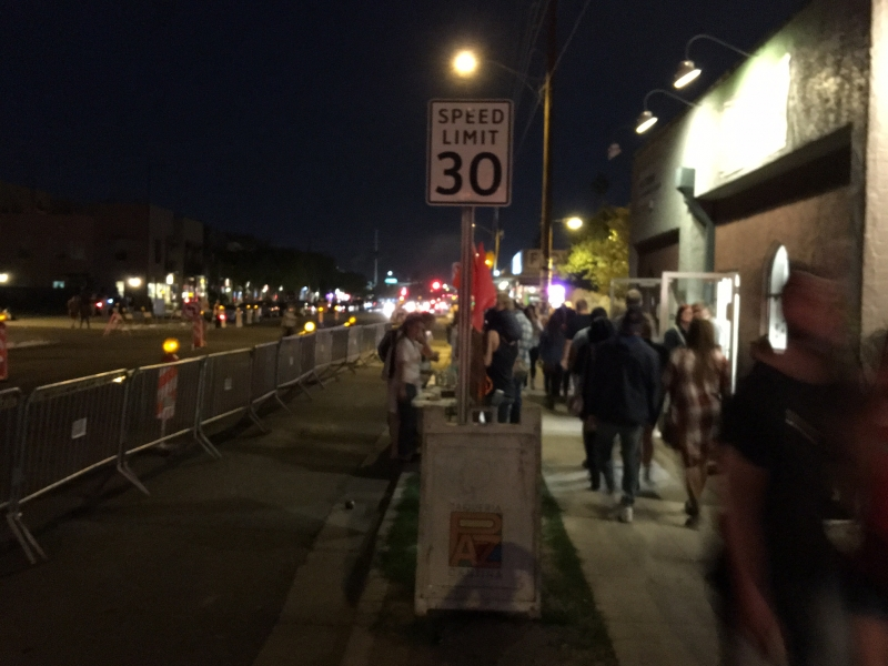Phoenix March First Friday, 3-4-16