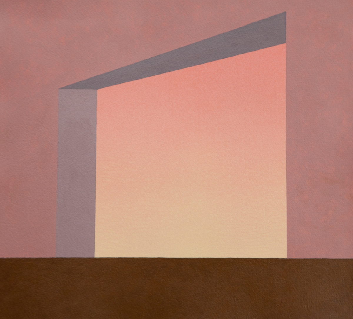 Brando White , Untitled (gradient portal) , 2015