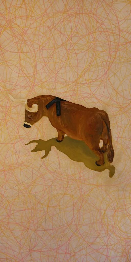 Eddie-Shea-X-Bull-Toy-detail-2015-Oil-on-canvas-8-ft-x-4-ft-512x1024.jpg