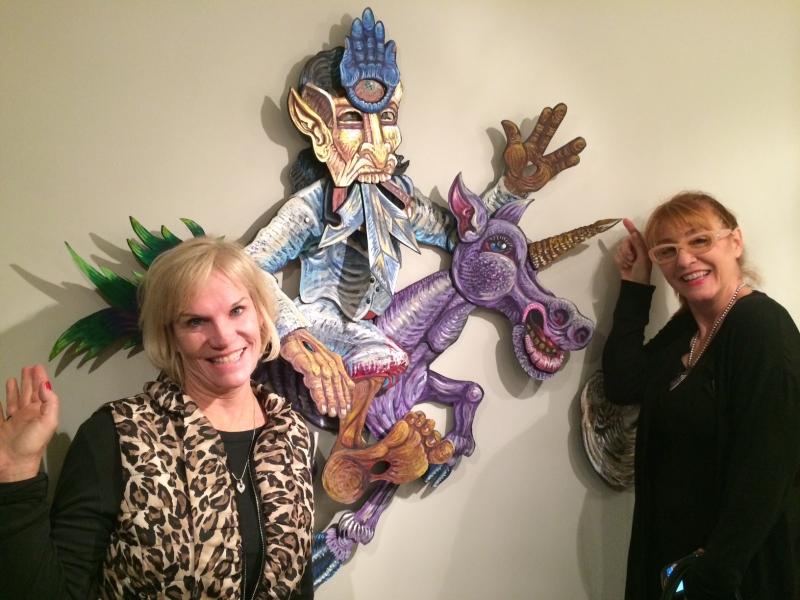 Denise Decker, Kathleen Bishop, First Friday, 12-5-14