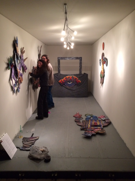 Dain and Sherrie installing, 11-20-14