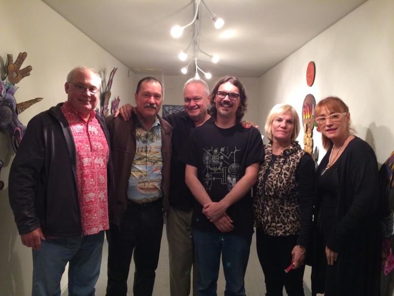 Steve Shields, Dave Decker, Ted Decker, Dain Gore, Denise Decker, Kathleen Bishop, First Friday, 12-5-14