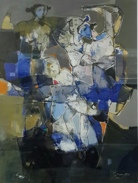 Formation , 2010 Acrylic on paper 28 x 21 inches