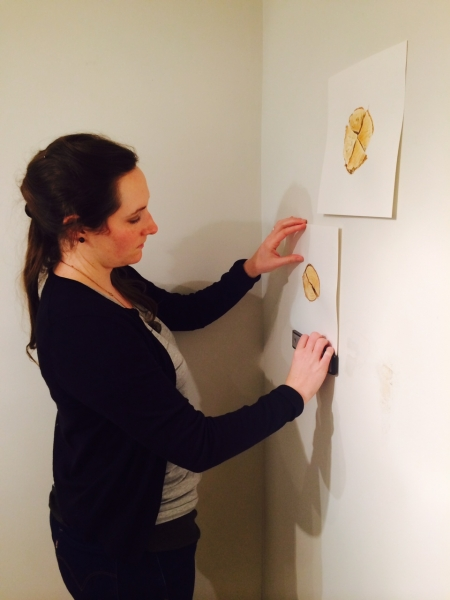 Photo Credit: Ted Decker installing, 1-15-15