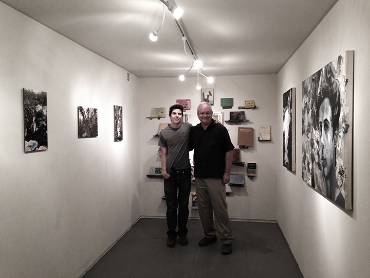 Ben Peck and Ted Decker, 2-19-15  Photo credit: Alexis Duque