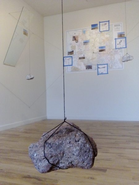 Displaced Four Times, Installation View 3