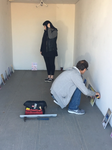 Another installation shot with Kelsey Duff and Brent Bond. 11-19-15