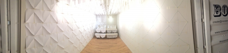 "Panorama Installation View, ""Onloaded: Alberto Aguilar/No Showroom"""