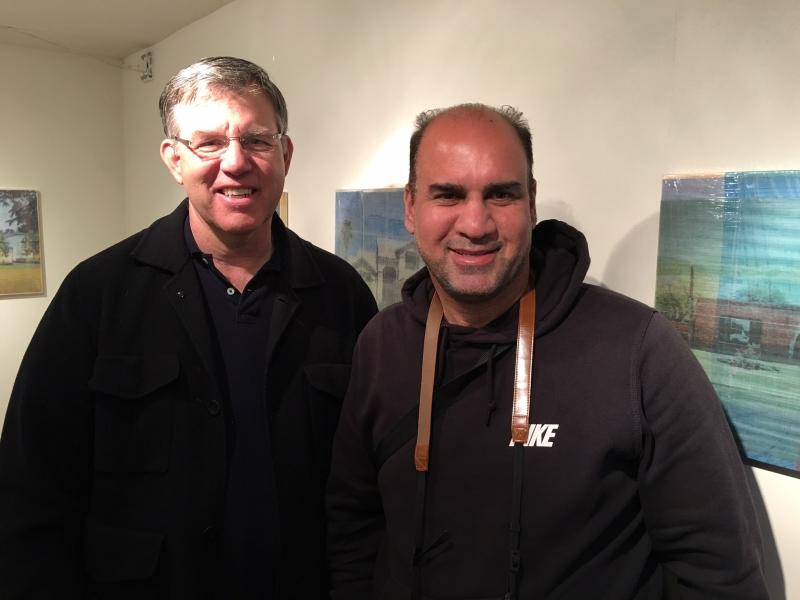 Bob Adams with Salman Alwastey, Phoenix First Friday, 2-6-16