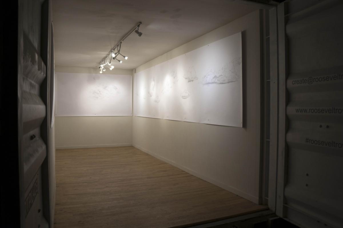 Karolina Sussland, Sunset Clouds, 2016, Installation image