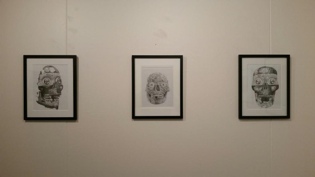 Darrin Armigo-Wardle, Wall installation, south, 1-16-16.JPG