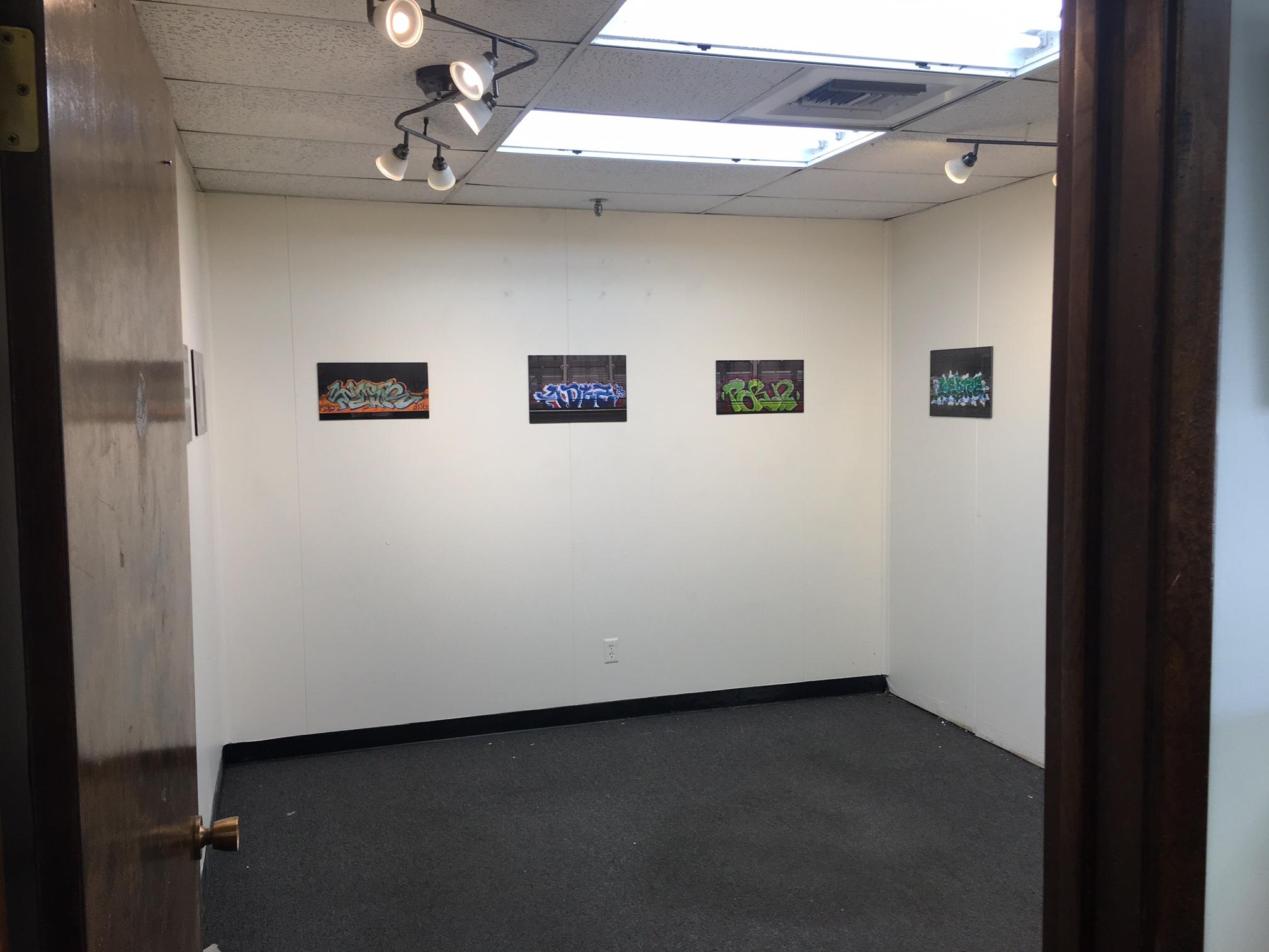 Nicholas Johnson, space installation, 1-16-16.JPG