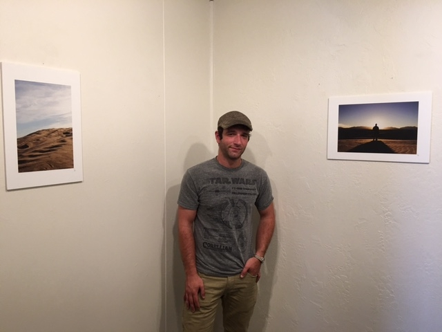 Caleb Duhaime in his Exhibition, 4-16-16
