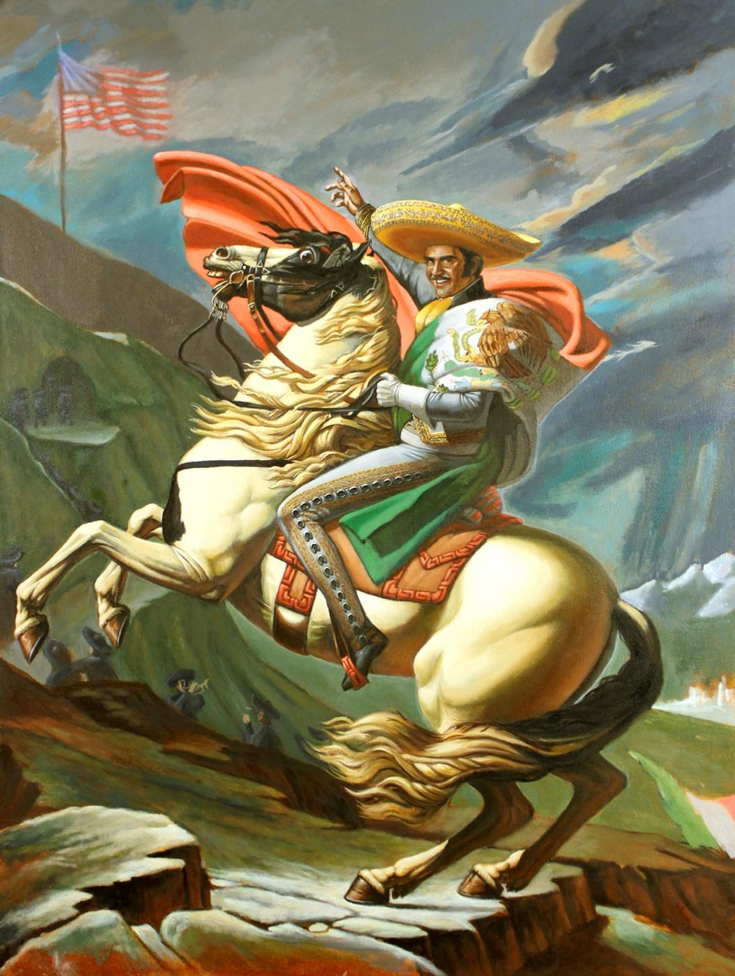 Conquista-ReConquista , 2016 Oil on canvas 40 x 30 inches Courtesy of the Artist.