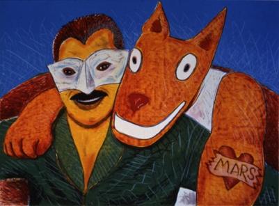 """Gilbert """"Magu"""" Lujan (1940-2011)"""