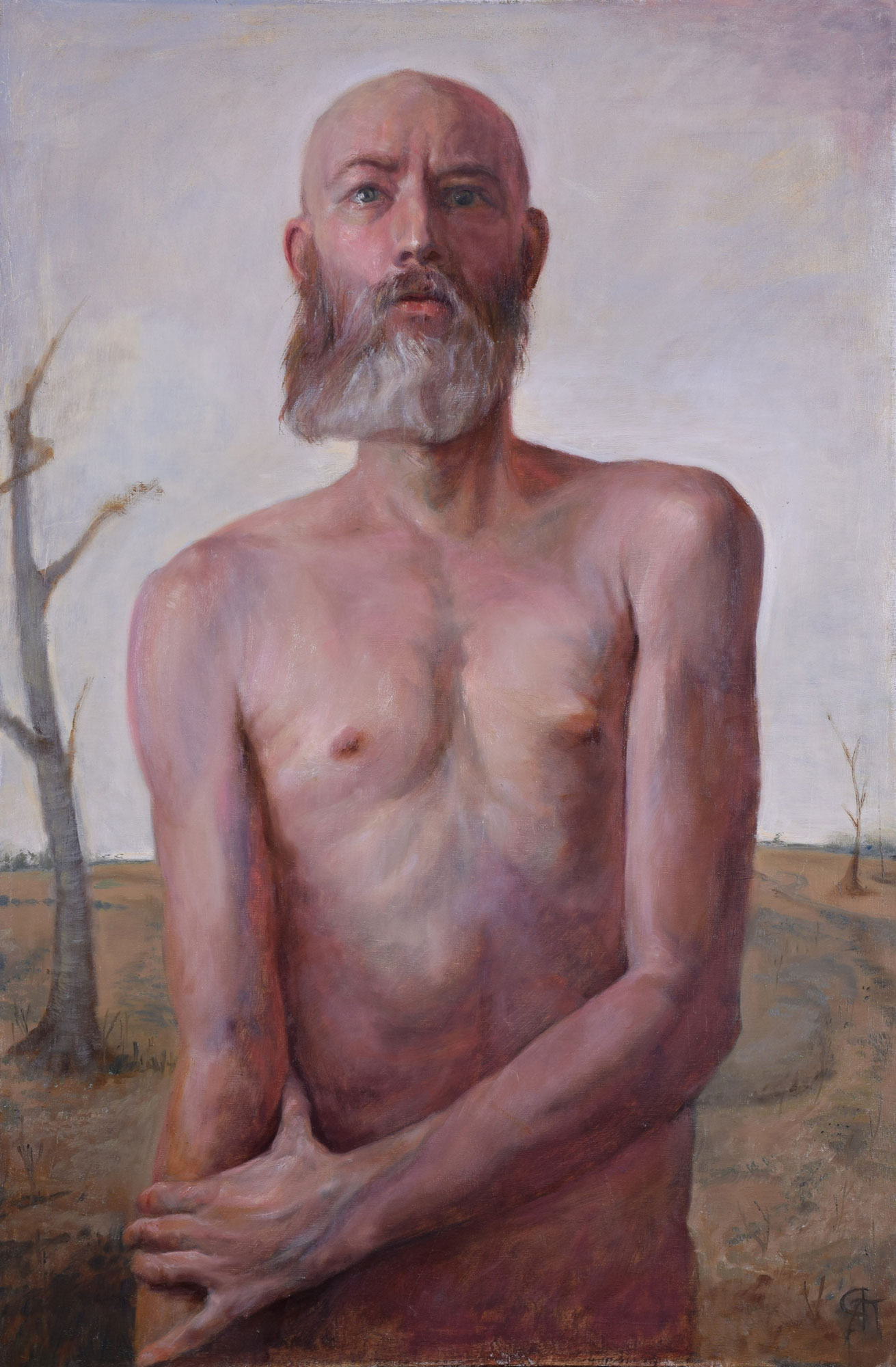 Rory Alan MacLean, Embraced, Oil on linen, 36 x 24 inches.jpg