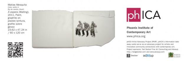 Artist:  Matias Mesquita   Sponsors:  Ted Decker Fine Art Consulting , ADUSUP, and  Splash Printing and Marketing
