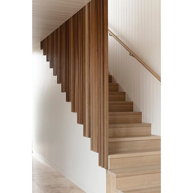 SEACHANGE HOUSE · Stair . 🔨 @dwbuilds . 📸 @benhosking1984 . . . . . . . . #architecture #australianarchitecture #coastal #coastalarchitecture #coastalhouses #australianhomes #architect #design #building #home #house #timber #wood #stair #barwonheads #victorianarchitecture #archdaily #archilovers #photooftheday #architecturephotography #instagood #architecture_hunter #finearchitecture #design_only #architects_need #solomontroup #solomontrouparchitects