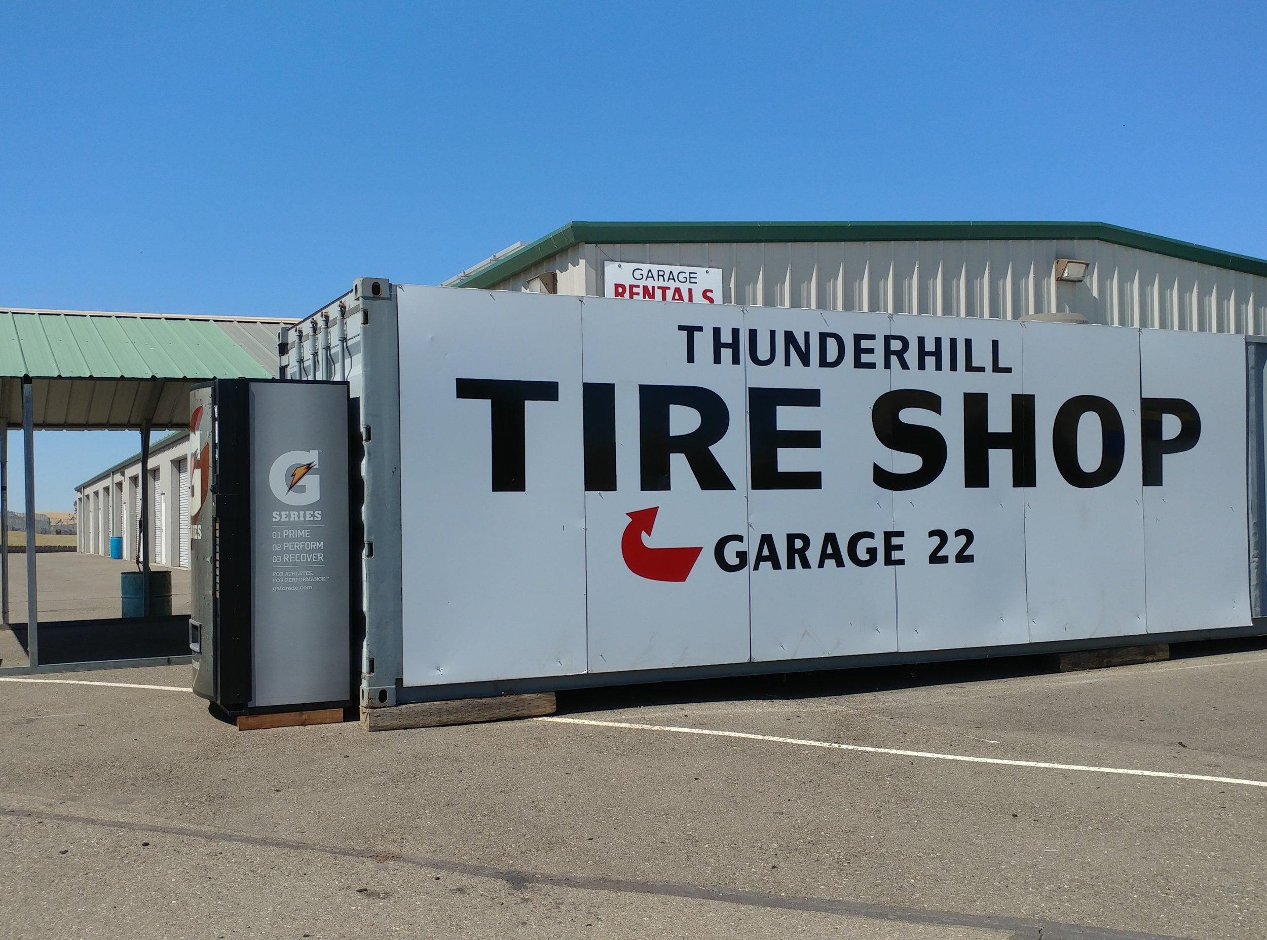 Thunderhill Gasoline Station