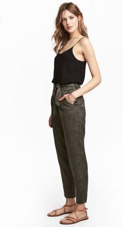 H&M Dark Khaki Pants