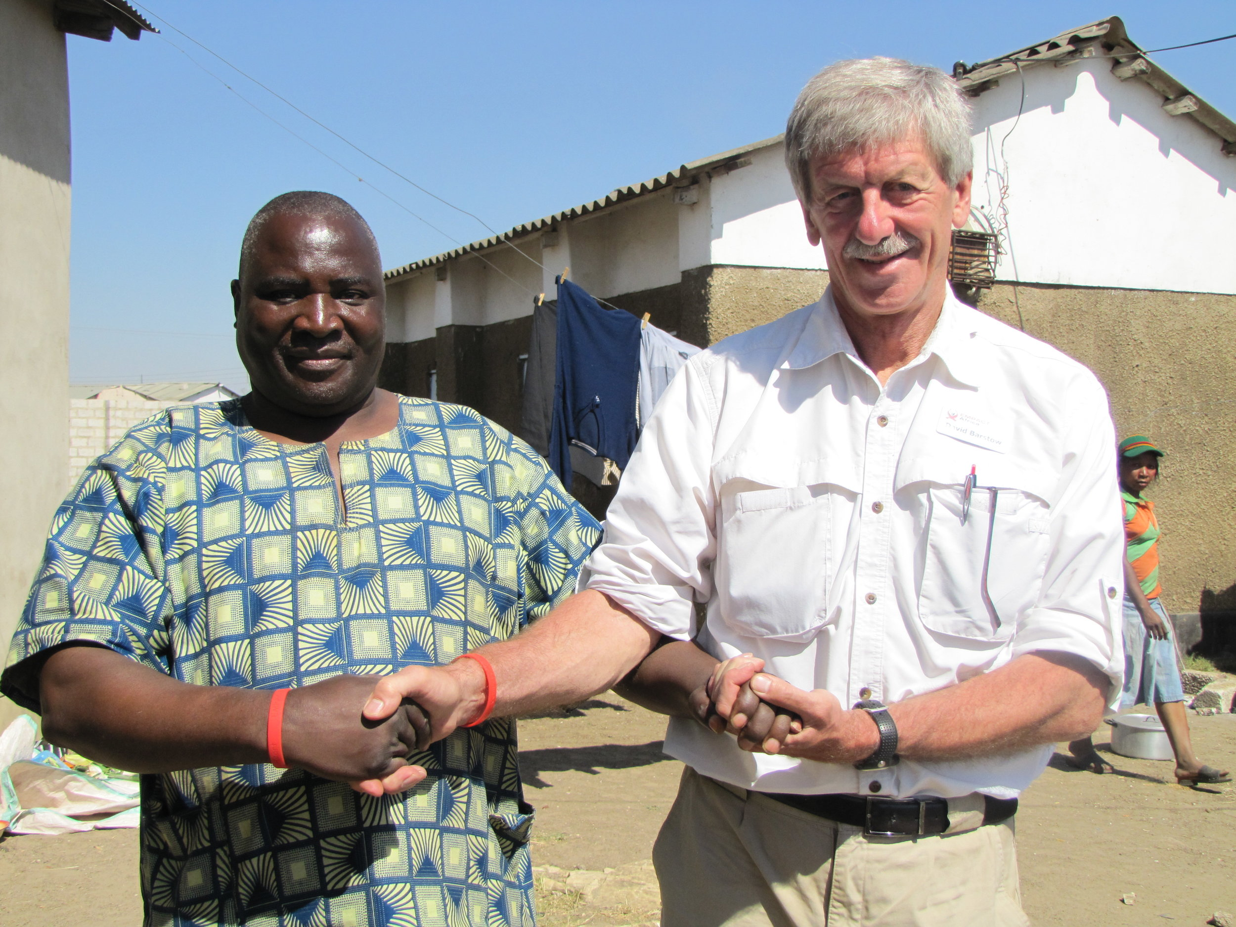 Barstow at a Pastor Training Workshop in Zambia