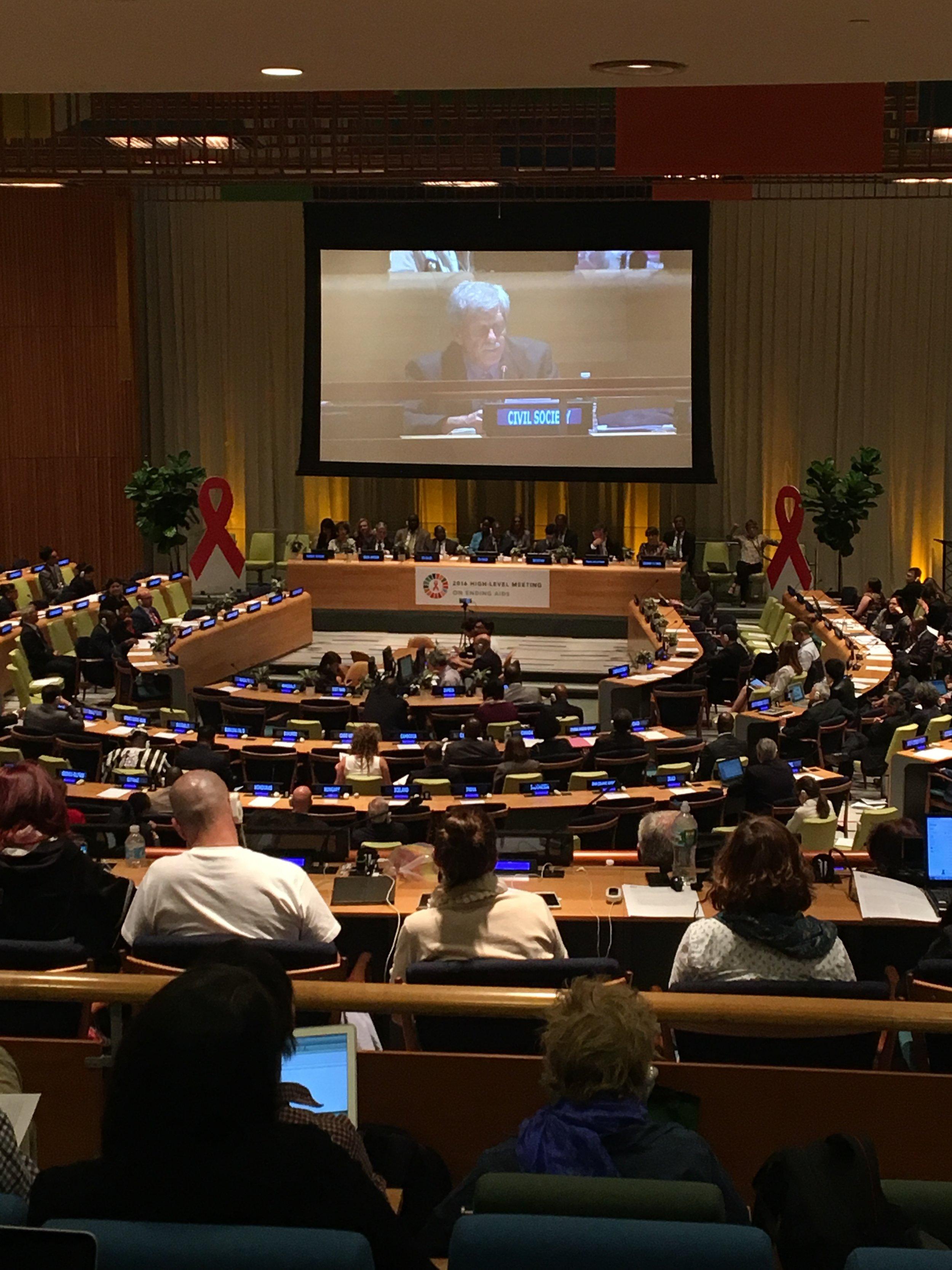 Dave at UN.JPG