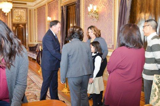 - MEETING GOVERNOR HERBERT FROM THE STATE OF UTAHREUNIÓN CON EL GOBERNADOR DEL ESTADO DE UTAH