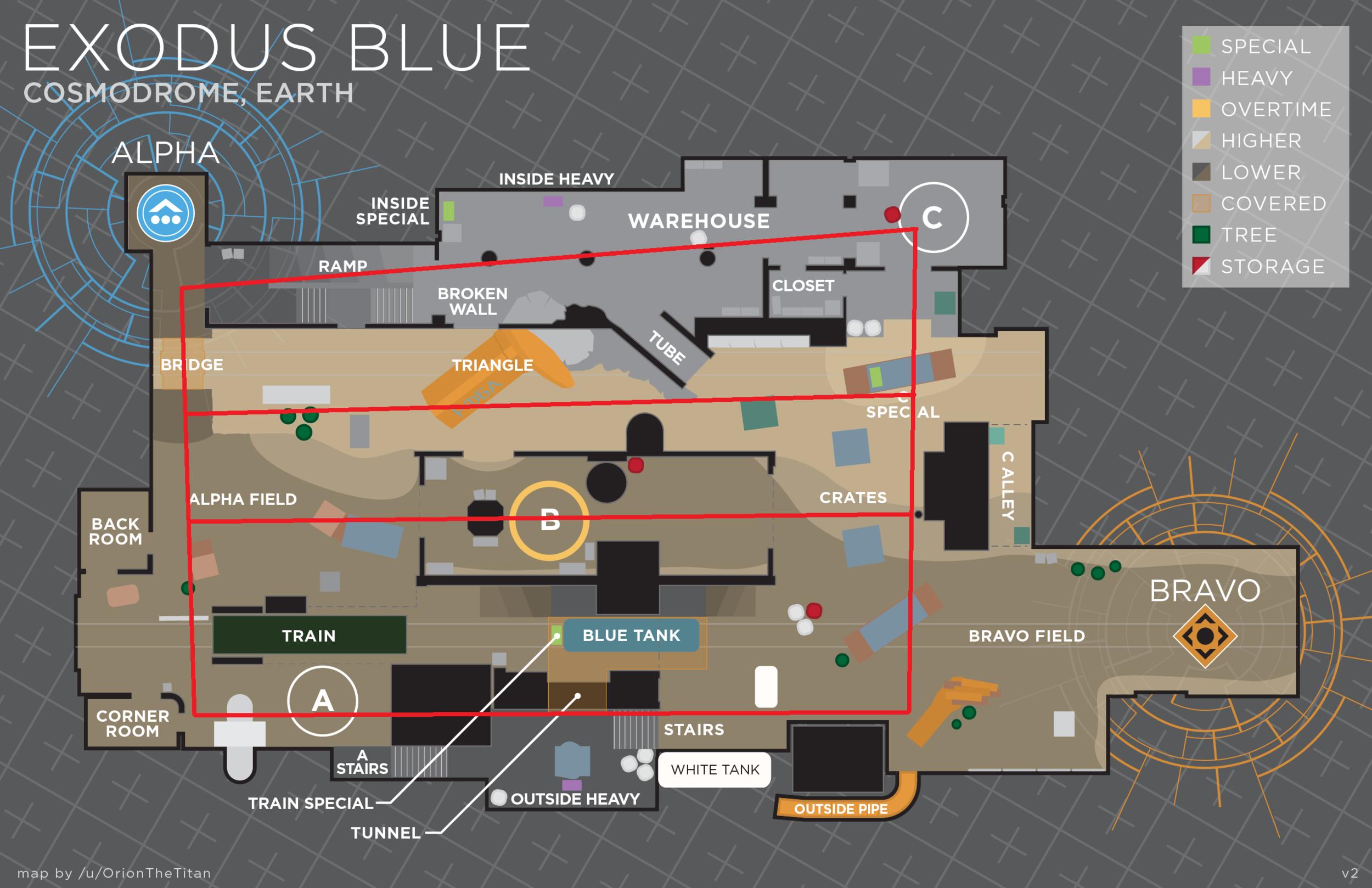 4 Lane Map