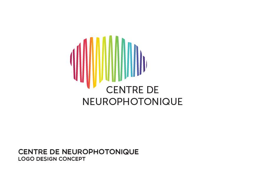 Neurophotonics Centre logo design concept