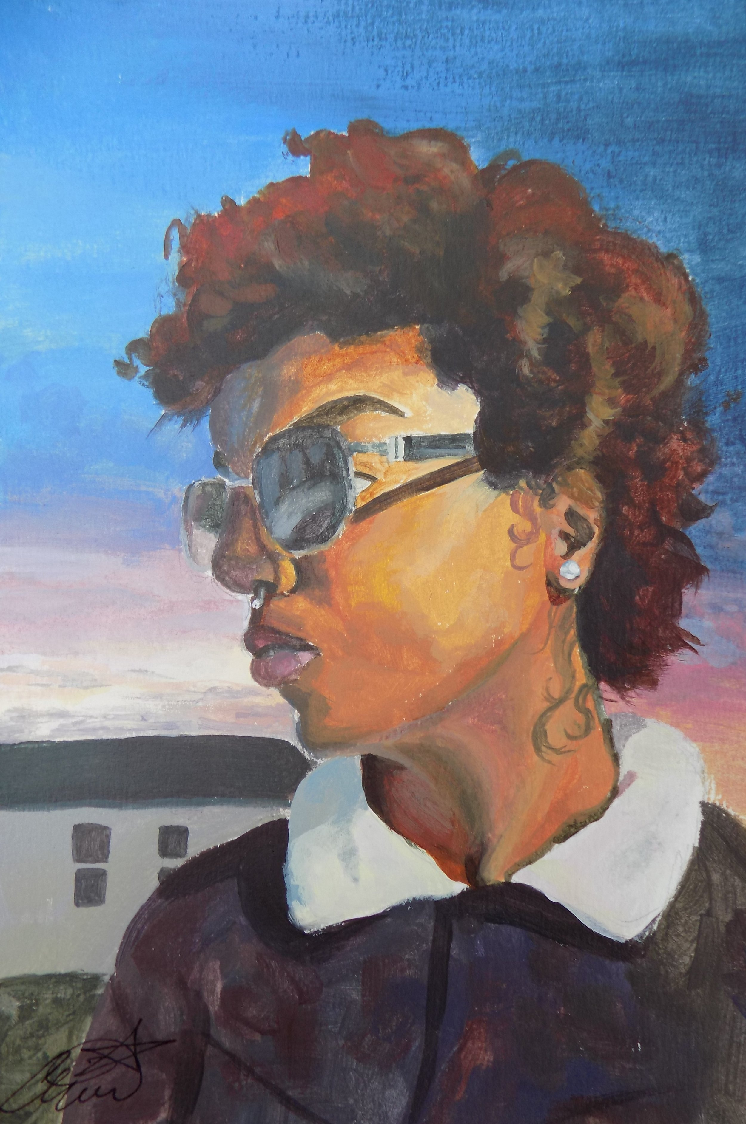 A young Richmond artist with much to bring to the creative table, Amina's artwork is full of expression. Her concepts are of a new age of Romanticism and Impressionism.