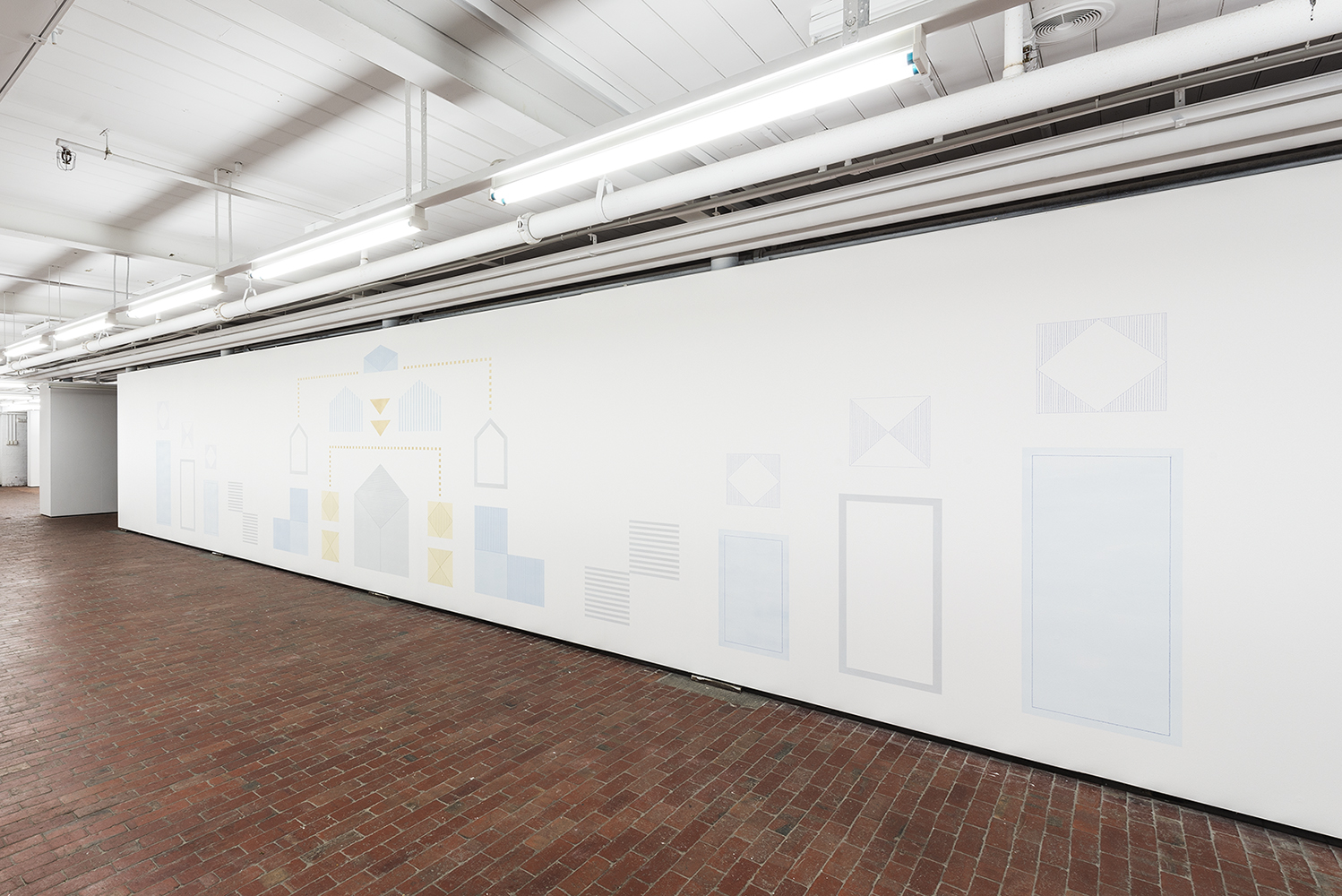 Shifting Shapes, Forming Spaces   Installation View