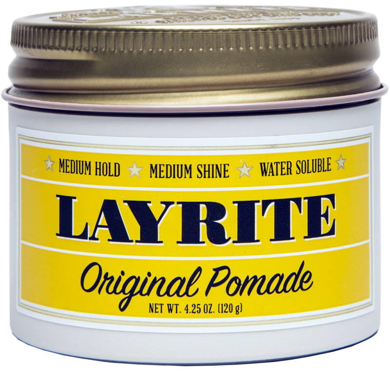 "LayRite's Original Pomade is a best seller, for good reason. Works like a champ for your mildly ""Styled"" hair."