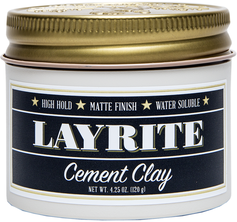All the hold, and none of the gloss, LayRite's Cement Clay is the go to if you're going for a Chris Hemsworth's Thor look (short or long haired really.) abs not included.