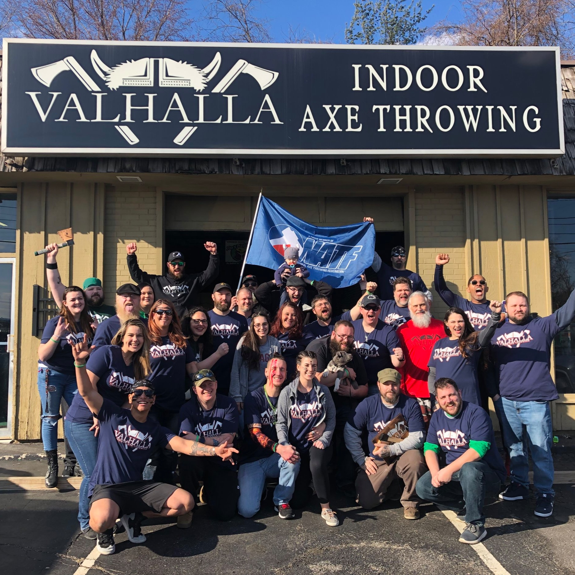 Join Valhalla's SAVAGE Axe Throwing League! - Join today- compete weekly in house against other savages. Travel the world being a competitive axe thrower on behalf of Valhalla Indoor Axe Throwing in the National Axe Throwing Federation. Win cash prizes for your incredible hand-eye coordination. Do it all with some of the best people you will ever meet!Complete the form below to sign up for our Summer League starting the first week of July! Must be 18+ to compete. $150 is the cost per season. You will be sent an invoice right after you sign up. Once your invoice is paid in full, your spot is reserved on the roster. Enjoy all of the perks of being a league member at Valhalla!