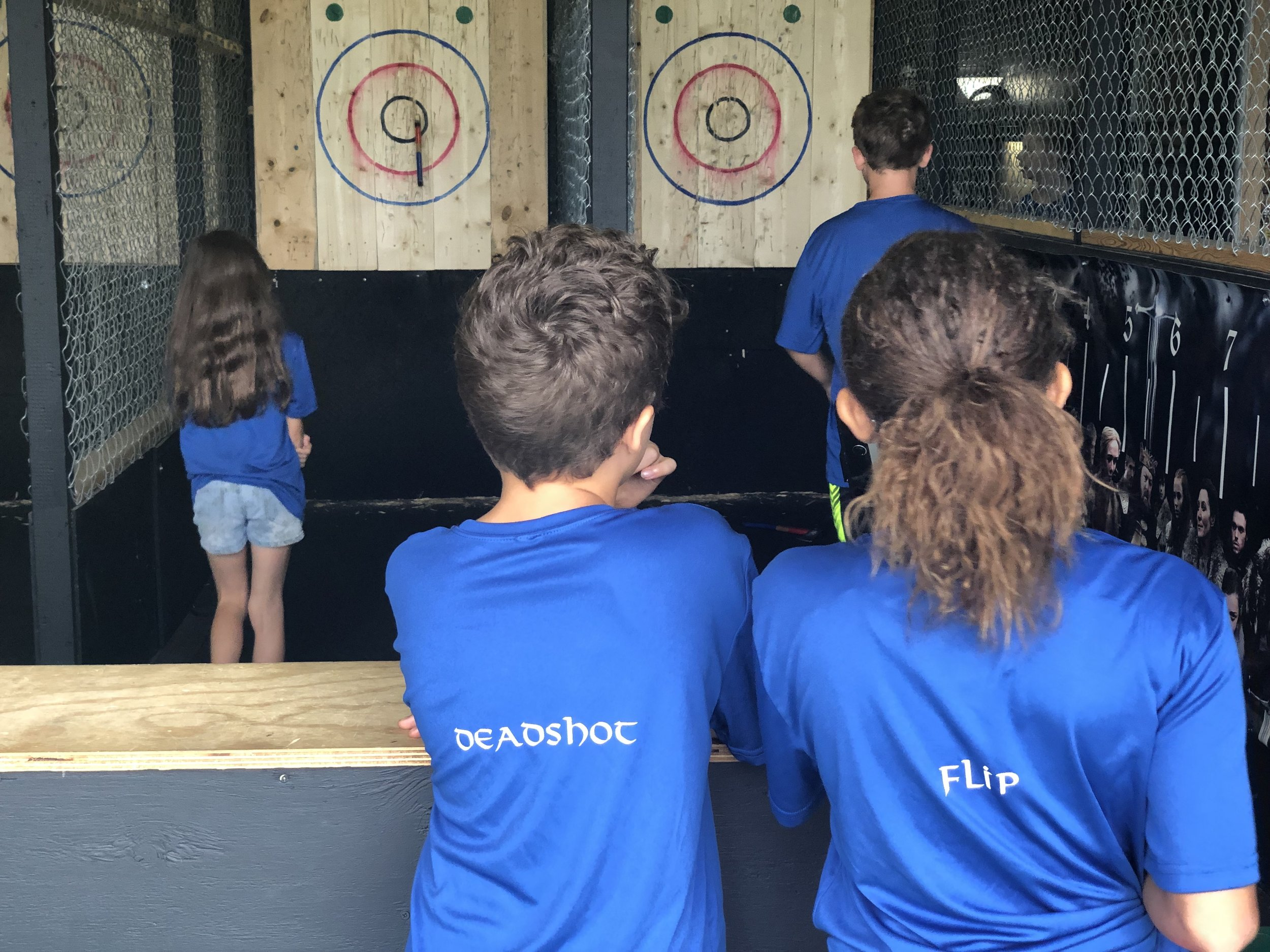 Valhalla's Youth Axe and Archery League - Our next Youth league will begin 9/3/19Tuesdays from 4pm-7pmAges 8-178 week season runs every Tuesday starting 9/3/19. All equipment is provided. Each competitor will receive a personalized team shirt.Limited AvailabilityCost: $150.00- an invoice will be sent to the email you provide. Once your invoice is paid in full, your child's spot will be reserved on the roster.Fill out the form below to get started!