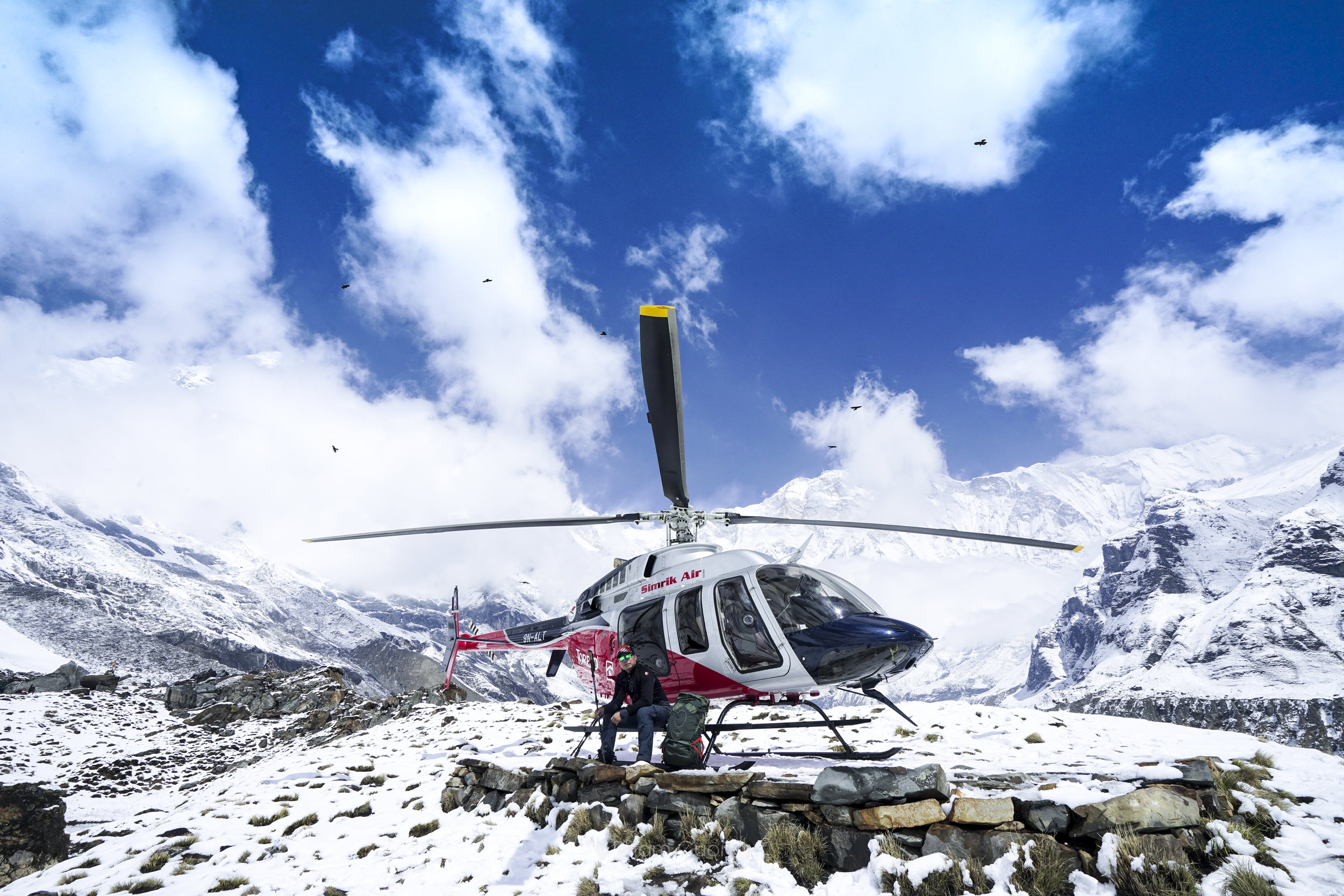 ANNAPURNA BASE CAMP    1 Days    LEVEL : Easy   TYPE : Helicopter